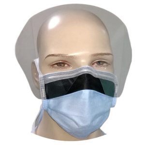 4-Ply Visor Mask - Blue