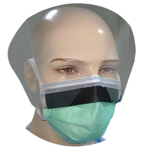 4-Ply Visor Mask - Green