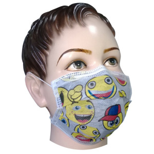Child Carbon Mask - Cartoon